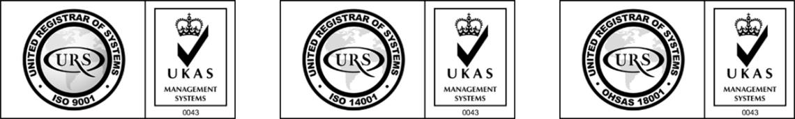 ISO 9001 Accreditation Logos