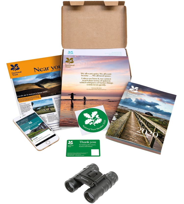 National Trust Membership Brochure Pack